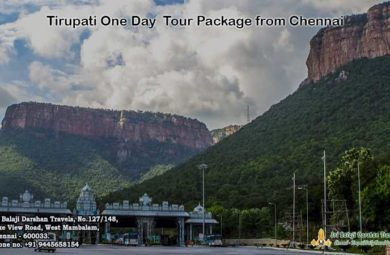 Tirupati One Day Tour Package from Chennai